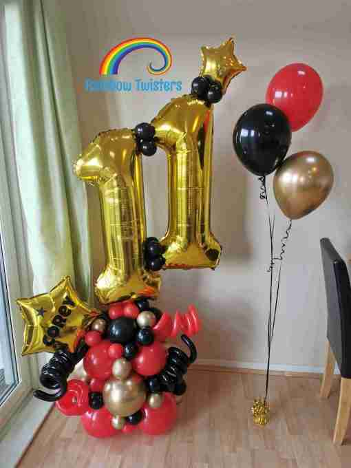 Balloon Packages Rainbow Twisters Glasgow Balloon Company