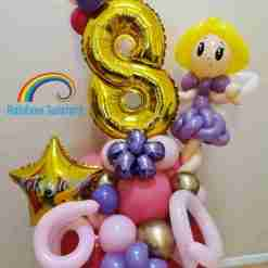 Fairy Birthday Balloons Rainbow Twisters Glasgow Balloon Company