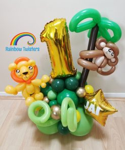 Animal Birthday Balloons Rainbow Twisters Glasgow Balloon Company