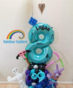 Game theme Birthday Balloons Rainbow Twisters Glasgow Balloon Company