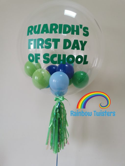 Bubble Balloons Rainbow Twisters Glasgow Balloon Company
