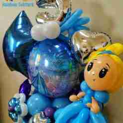 Surprise Balloon Bouquet from Rainbow Twisters, Glasgow