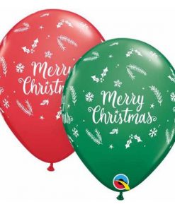 Christmas Helium Balloons Glasgow