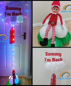 Floating Light up Christmas Balloon