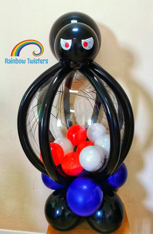 Halloween Balloons Glasgow Rainbow Twisters