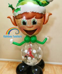 Christmas Elf Balloon Glasgow