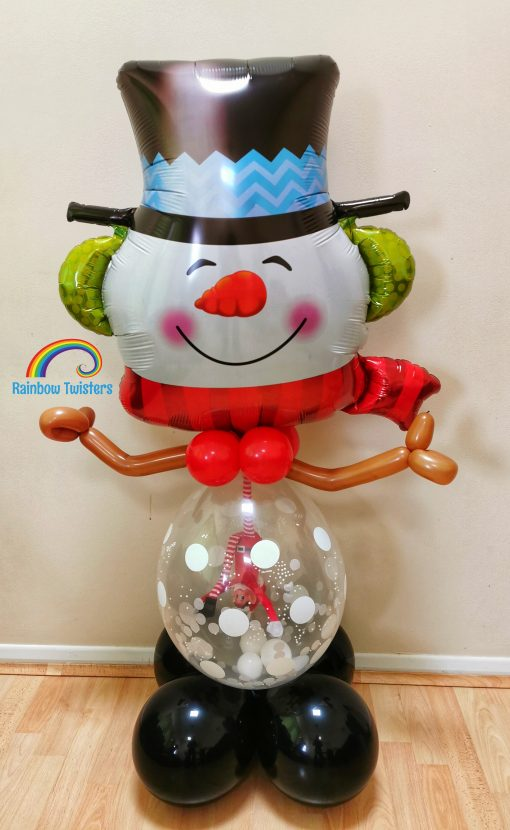 Christmas Snowman Balloon Glasgow