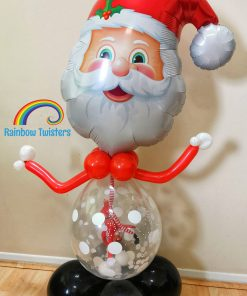 Christmas Santa Balloon Glasgow