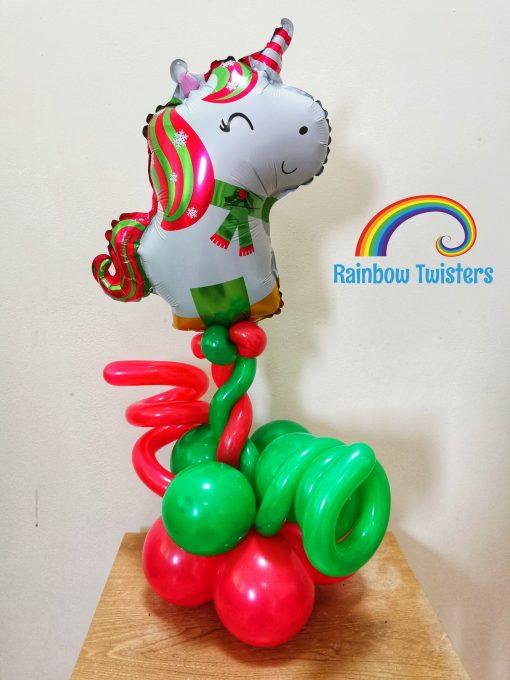 Christmas Tabletop Balloon Glasgow