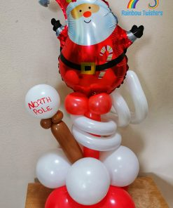 Christmas Tabletop Balloon Glasgow