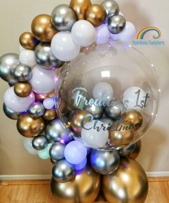 Balloon Hug Rainbow Twisters Personalised Balloon Gift Glasgow Balloon Company