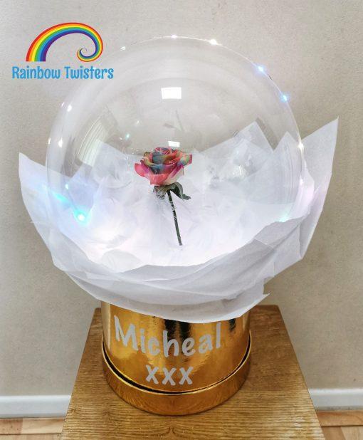 Blossom Bubble Balloon Rainbow Twisters Glasgow Balloon Company