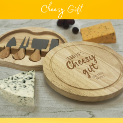 Personalised Cheese Board Rainbow Twisters Custom Gifts