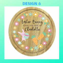 Personalised Easter Board Rainbow Twisters Custom Gifts