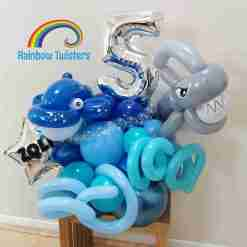 Under The Sea Birthday Balloons Rainbow Twisters Glasgow Balloon Company
