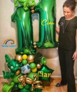 Animal Themed Birthday Balloons Rainbow Twisters Glasgow