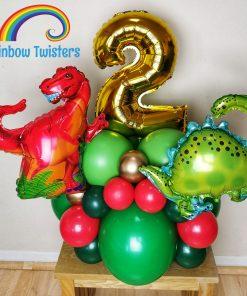 Basic Themed Birthday Balloon Centrepieces by Rainbow Twisters Glasgow Balloon Company