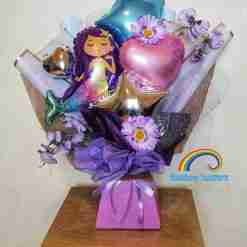 Mermaid Balloon Bouquet Rainbow Twisters Glasgow