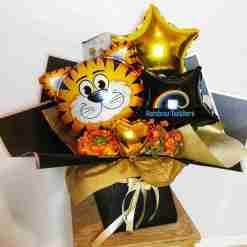 Tiger Balloon Bouquets Rainbow Twisters Balloon Gifts and Delivery