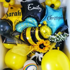 Bee Bouquet Box by Rainbow Twisters available for nationwide delivery UK